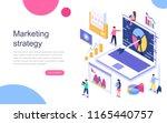 modern flat design isometric... | Shutterstock .eps vector #1165440757