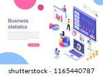 modern flat design isometric... | Shutterstock .eps vector #1165440787