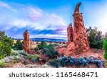 sandstones in red rock canyon... | Shutterstock . vector #1165468471