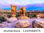 red rock canyon sandstones... | Shutterstock . vector #1165468474