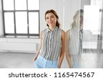 business and people concept  ... | Shutterstock . vector #1165474567