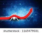 3d illustration financial... | Shutterstock . vector #1165479031