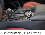 interior of new modern car.... | Shutterstock . vector #1165479454