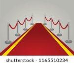 red carpet. vector illustration | Shutterstock .eps vector #1165510234
