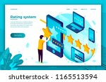 vector concept illustration   ... | Shutterstock .eps vector #1165513594