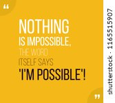 motivational quote. inspiration....   Shutterstock .eps vector #1165515907