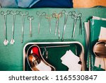 surgical instruments and tools...   Shutterstock . vector #1165530847