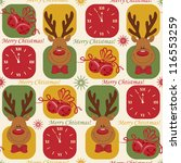 colorful christmas pattern...