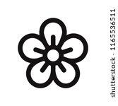 flower vector icon | Shutterstock .eps vector #1165536511