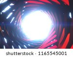abstract blue and red spiral... | Shutterstock . vector #1165545001