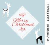 happy new year quote  vector... | Shutterstock .eps vector #1165555387