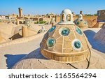 the roofscape of qasemi  sultan ... | Shutterstock . vector #1165564294