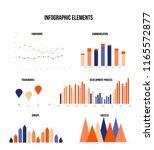 ads rating visualisation... | Shutterstock .eps vector #1165572877