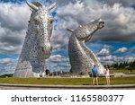 """helix  scotland  united... | Shutterstock . vector #1165580377"