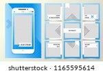 editable template for the... | Shutterstock .eps vector #1165595614