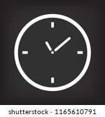 clock symbol  clock icon... | Shutterstock .eps vector #1165610791