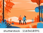 vector illustration in flat... | Shutterstock .eps vector #1165618591