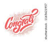 congrats. congratulations... | Shutterstock .eps vector #1165621957