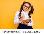 close up portrait of pensive ... | Shutterstock . vector #1165631257
