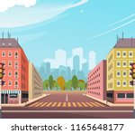 vector illustration asphalt... | Shutterstock .eps vector #1165648177