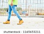 low section portrait of... | Shutterstock . vector #1165653211