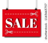 sale banner and text white...   Shutterstock .eps vector #1165665757
