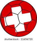 switzerland football on white... | Shutterstock .eps vector #11656720