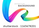 modern colorful flow abstract... | Shutterstock .eps vector #1165678201