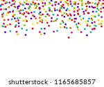 abstract confetti background... | Shutterstock .eps vector #1165685857