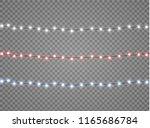 vector christmas lights ...   Shutterstock .eps vector #1165686784