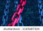block chain concept.... | Shutterstock . vector #1165687324