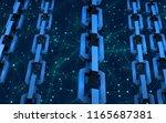 block chain concept.... | Shutterstock . vector #1165687381