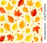 seamless pattern with colorful... | Shutterstock .eps vector #1165726951