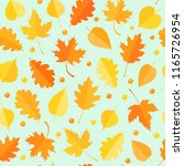 seamless pattern with colorful... | Shutterstock .eps vector #1165726954