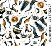 a seamless watercolor pattern... | Shutterstock . vector #1165732627