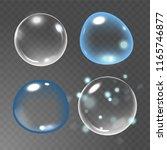 bubbles under water vector... | Shutterstock .eps vector #1165746877