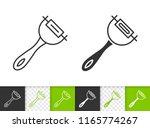 peeler black linear and... | Shutterstock .eps vector #1165774267