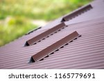 close up detail of metal brown... | Shutterstock . vector #1165779691