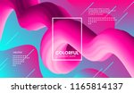 abstract modern background with ... | Shutterstock .eps vector #1165814137