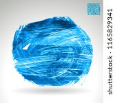 blue brush stroke and texture.... | Shutterstock .eps vector #1165829341