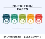 set of colorful tags showing... | Shutterstock .eps vector #1165829947