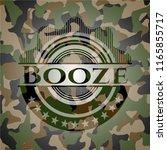 booze on camo pattern | Shutterstock .eps vector #1165855717