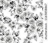 abstract elegance seamless... | Shutterstock . vector #1165858867