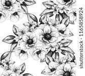 abstract elegance seamless... | Shutterstock . vector #1165858924