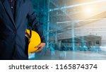 business logistics concept ...   Shutterstock . vector #1165874374