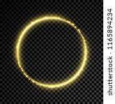 gold glitter star circle on... | Shutterstock .eps vector #1165894234