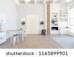 fashionable spacious apartment...   Shutterstock . vector #1165899901