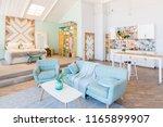 fashionable spacious apartment...   Shutterstock . vector #1165899907