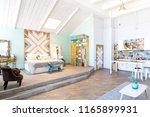 fashionable spacious apartment...   Shutterstock . vector #1165899931