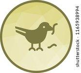 bird eating worm   Shutterstock .eps vector #1165938994